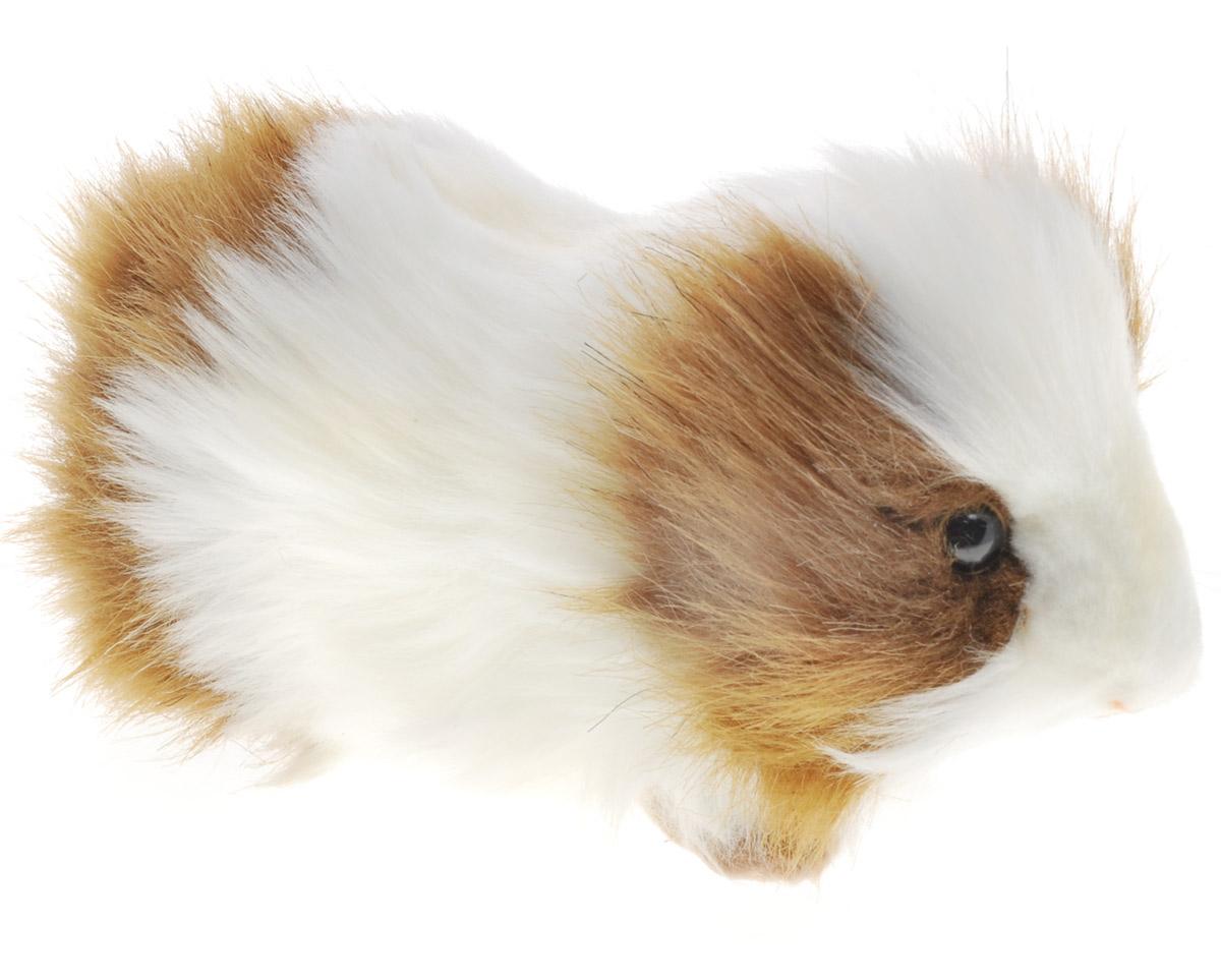 Hansa Toys Мягкая игрушка Морская свинка 20 см3735Морская свинка - вид одомашненных грызунов семейства свинковых. Были одомашнены инками и использовались в качестве источника ценного мяса, а также в декоративных целях. Длина тела морской свинки составляет от 25 до 35 см, вес самцов около 1,2 кг, вес самок около 1 кг. Хвост отсутствует, у породистых свинок висячие уши, широкая морда. Природная окраска коричневато- сероватая, с более светлым брюшком. Основной корм морских свинок - качественное сено. По причине особого строения пищеварительной системы свинки употребляют пищу часто и маленькими порциями. Мягкая игрушка Hansa Toys Морская свинка обязательно понравится вам и вашему малышу и познакомит вас с этим забавным животным.