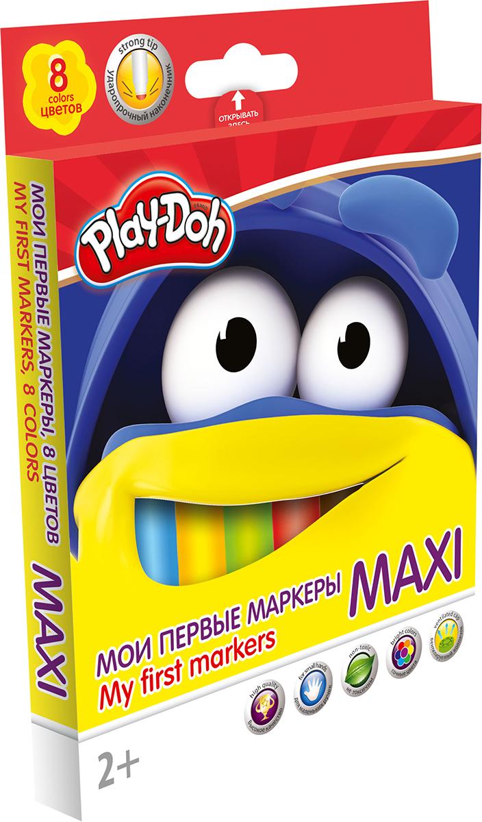 Play-Doh Набор маркеров Maxi 8 цветов