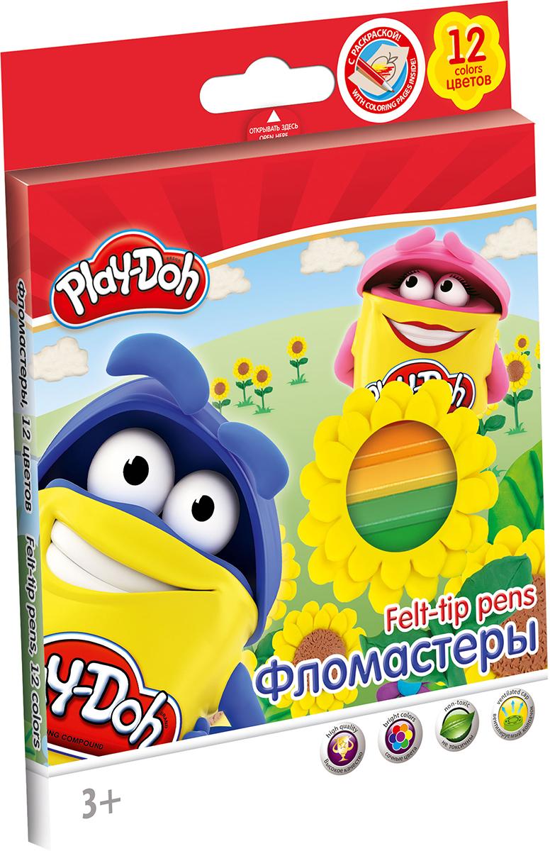 Play-Doh Набор фломастеров 12 цветов