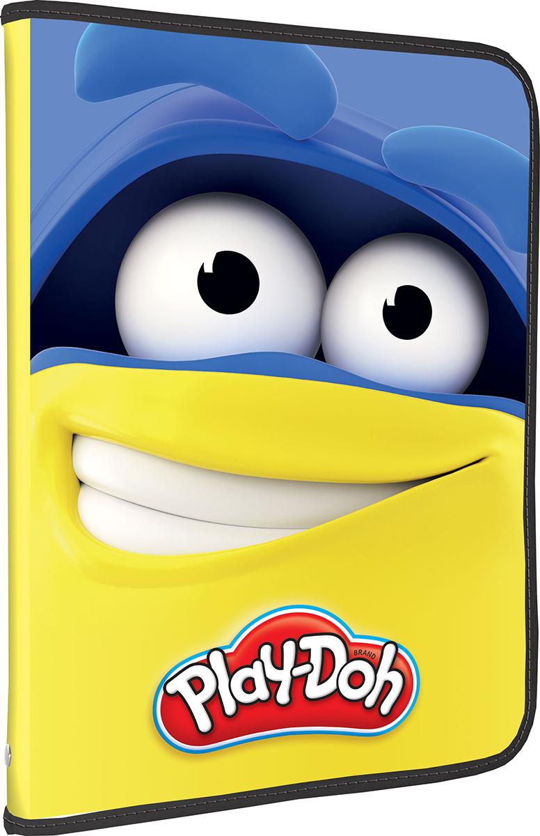 Play-Doh Папка на молнии формат А4 цвет желтый синийPDCP-US1-CPBFLA4Папка на молнии Play-Doh - это удобный и функциональный инструмент, предназначенный для хранения и транспортировки документов формата А4, а также тетрадей и канцелярских принадлежностей. Папка изготовлена из прочного высококачественного пластика, закрывается на круговую застежку-молнию. Папка состоит из одного отделения и оформлена оригинальным принтом с изображением веселых Додошек. В такую папку ребенок сможет складывать свои раскраски, аппликации и другие поделки. Таким образом, малыш приучается к порядку с самых ранних лет.