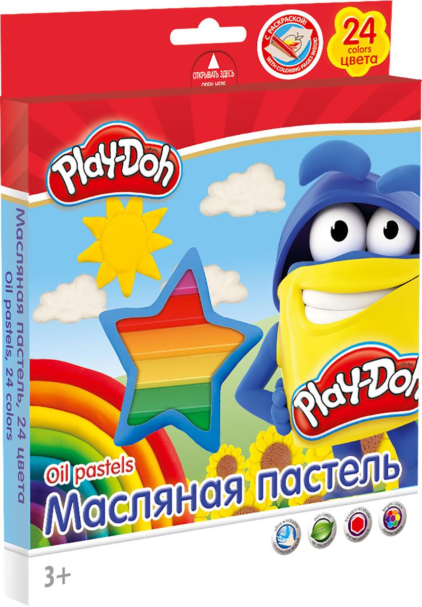 Play-Doh Краска пастель масляная 24 цвета