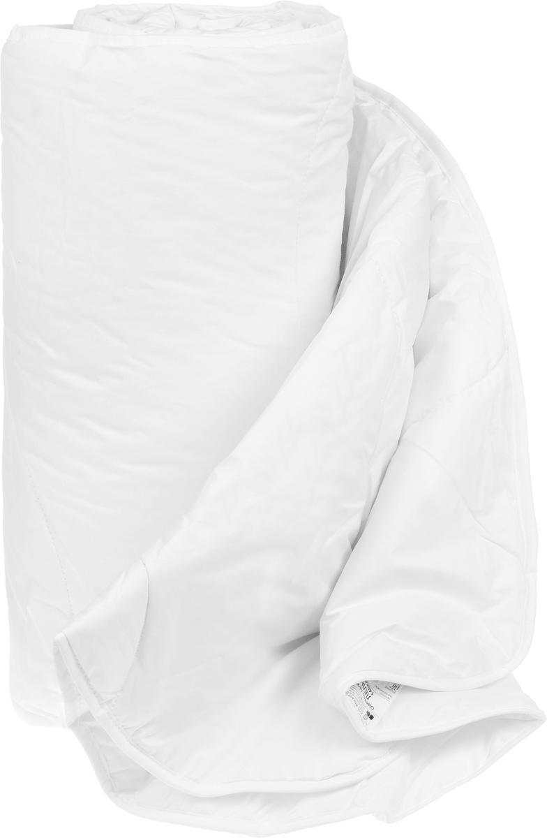 Одеяло теплое Легкие сны Лель, наполнитель: лебяжий пух, 172 x 205 см172(42)02-ЛПТеплое одеяло Легкие сны Лель поможет расслабиться, снимет усталость и подарит вам спокойный и здоровый сон. Полиэфирное высокосиликонизированное микроволокно лебяжий пух - это искусственный аналог натурального лебяжьего пуха. По потребительским свойствам он не отличается от своего натурального аналога, он такой же легкий, пышный и теплый. Простота в уходе тоже имеет немаловажное значение, такое изделие предназначено для машинной стирки. Чехол одеяла выполнен из пуходержащего хлопкового тика белого цвета. Это натуральная хлопчатобумажная ткань, отличающаяся высокой плотностью, идеально подходит для пухо-перовых изделий, так как устойчива к проколам и разрывам, а также отличается долговечностью в использовании. Одеяло простегано и окантовано. Стежка надежно удерживает наполнитель внутри и не позволяет ему скатываться. Теплое одеяло Легкие сны Лель - идеальный выбор для спальни в светлых тонах. Можно стирать в...