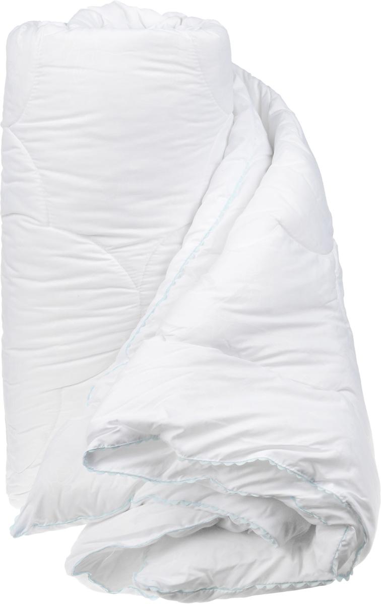 Одеяло теплое Легкие сны Перси, наполнитель: лебяжий пух, 200 х 220 см200(42)07-ЛПТеплое одеяло Легкие сны Перси поможет расслабиться, снимет усталость и подарит вам спокойный и здоровый сон. Полиэфирное высокосиликонизированное микроволокно лебяжий пух - это искусственный аналог натурального лебяжьего пуха. По потребительским свойствам он не отличается от своего натурального аналога, он такой же легкий, пышный и теплый. Чехол одеяла, выполненный из микрофибры (100% хлопок), оформлен тиснением в виде изящных цветов. По краю изделие украшено ажурным кантом светло-голубого цвета. Одеяло простегано. Стежка надежно удерживает наполнитель внутри и не позволяет ему скатываться. Теплое одеяло Легкие сны Перси - идеальный выбор для спальни в светлых тонах. Можно стирать в стиральной машине.