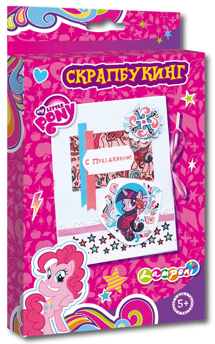 My Little Pony Моделирование из бумаги СкрапбукингMPCA-UA1-SCB1-BOXТермин скрапбукинг, или как его еще называют скрэпбукинг происходит от английского scrap - вырезка и book - книга, т.е. дословно это можно перевести как книга из вырезок. Скрапбукинг является видом рукодельного искусства, при котором любой желающий изготавливает и оформляет открытку, рассказывающую истории в виде изображений, фотографий, записей, газетных вырезок и других вещей, которые имеют памятную ценность. Данный набор помогает формированию усидчивости, внимательности, старательности и аккуратности. Развивает мелкую моторику рук. Состав набора: Картонная основа, клей, декоративные элементы, ленты атласные, инструкция.