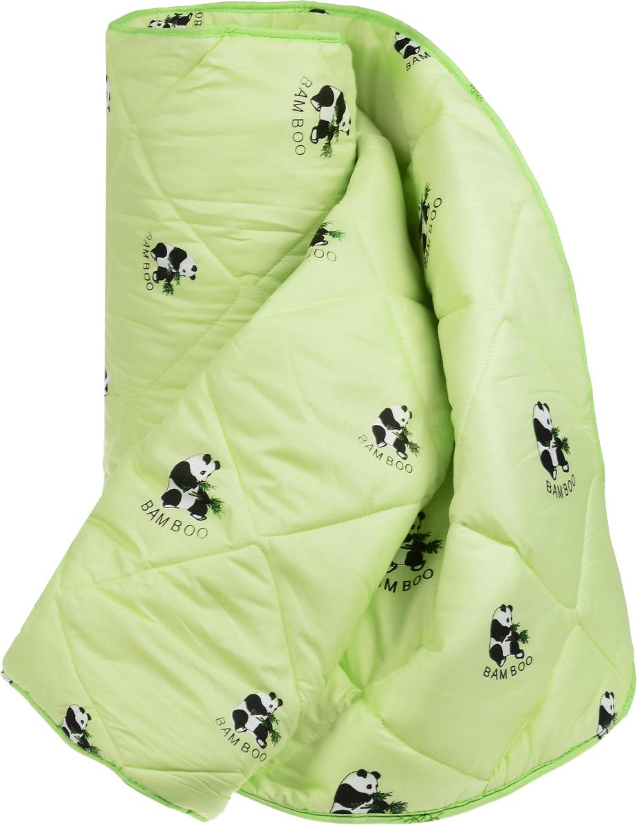 Одеяло Letto Панда, наполнитель: смесовое волокно, 200 х 215 смpanda_bambuk200Одеяло Letto Панда с наполнителем из смесового волокна (20% бамбук, 80% файбер) обладает множеством преимуществ. Оно выполнено из современных наполнителей, его легко стирать, оно быстро сохнет, а плотная стежка не позволяет одеялу сбиваться и равномерно распределяет наполнитель - то, что нужно на каждый день. Такое одеяло прекрасно подойдет для любителей одеял потеплее и прохладных помещений, а также на переходные сезоны. При этом оно достаточно легкое и воздушное, не создает эффект тяжести во время сна. Чехол одеяла выполнен из полиэстера. . Одеяло Letto Панда подарит вам тепло, комфорт и создаст приятную атмосферу в спальне. Одеяло Letto Панда Плотность наполнителя: 300 г/м2.