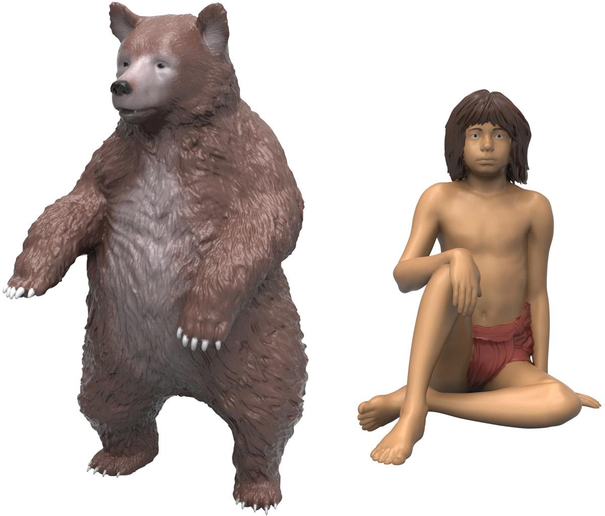 Jungle Book Набор фигурок Балу и Маугли23255_Балу и МауглиНабор фигурок Jungle Book Балу и Маугли выполнен по мотивам одноименного фильма студии Disney. Особенность данного набора заключается в том, что фигурка животного является функциональной и может совершать определенные движения. Набор включает в себя фигурку умного Балу и веселого мальчика Маугли, медведь способен двигать конечностями, а Маугли может лишь сидеть и наблюдать за своим учителем. Такие фигурки компактного размера позволят ребенку воссоздать любимые сцены из мультфильма или придумать собственные захватывающие истории, что поможет ему развить воображение.