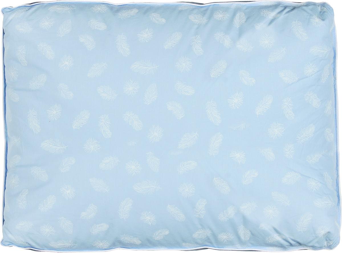 Подушка Легкие сны Донна, наполнитель: гусиный пух второй категории, 50 х 68 см57(14)02-ПЭПодушка Легкие сны Донна поможет расслабиться, снимет усталость и подарит вам спокойный и здоровый сон. Наполнителем этой подушки является воздушный и легкий гусиный пух второй категории. Чехол выполнен из гладкой, шелковистой и при этом достаточно прочной ткани тик (100% хлопок). Это отличный вариант для подарка себе и своим близким. Степень поддержки: упругая. Разрешается машинная стирка при температуре 30°C.