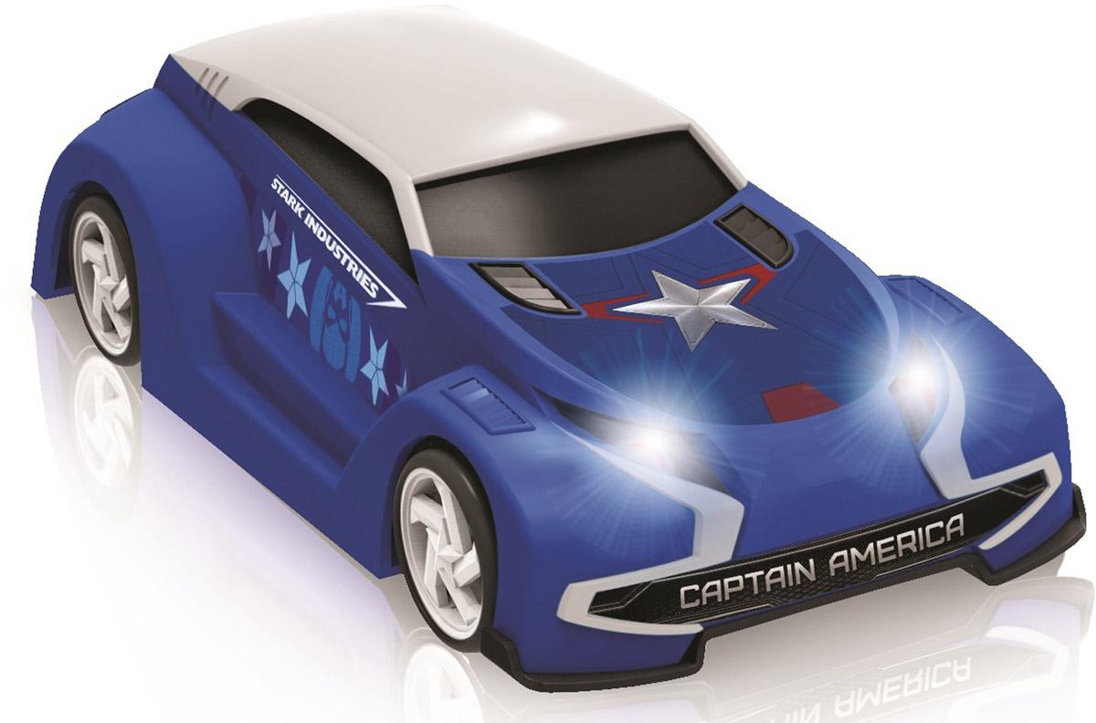 Avengers Машина на радиоуправлении Капитан Америка5069_Капитан АмерикаМашинки на радиоуправлении в виде героев знаменитого фильма Мстители от компании Yellow. Фары светятся.