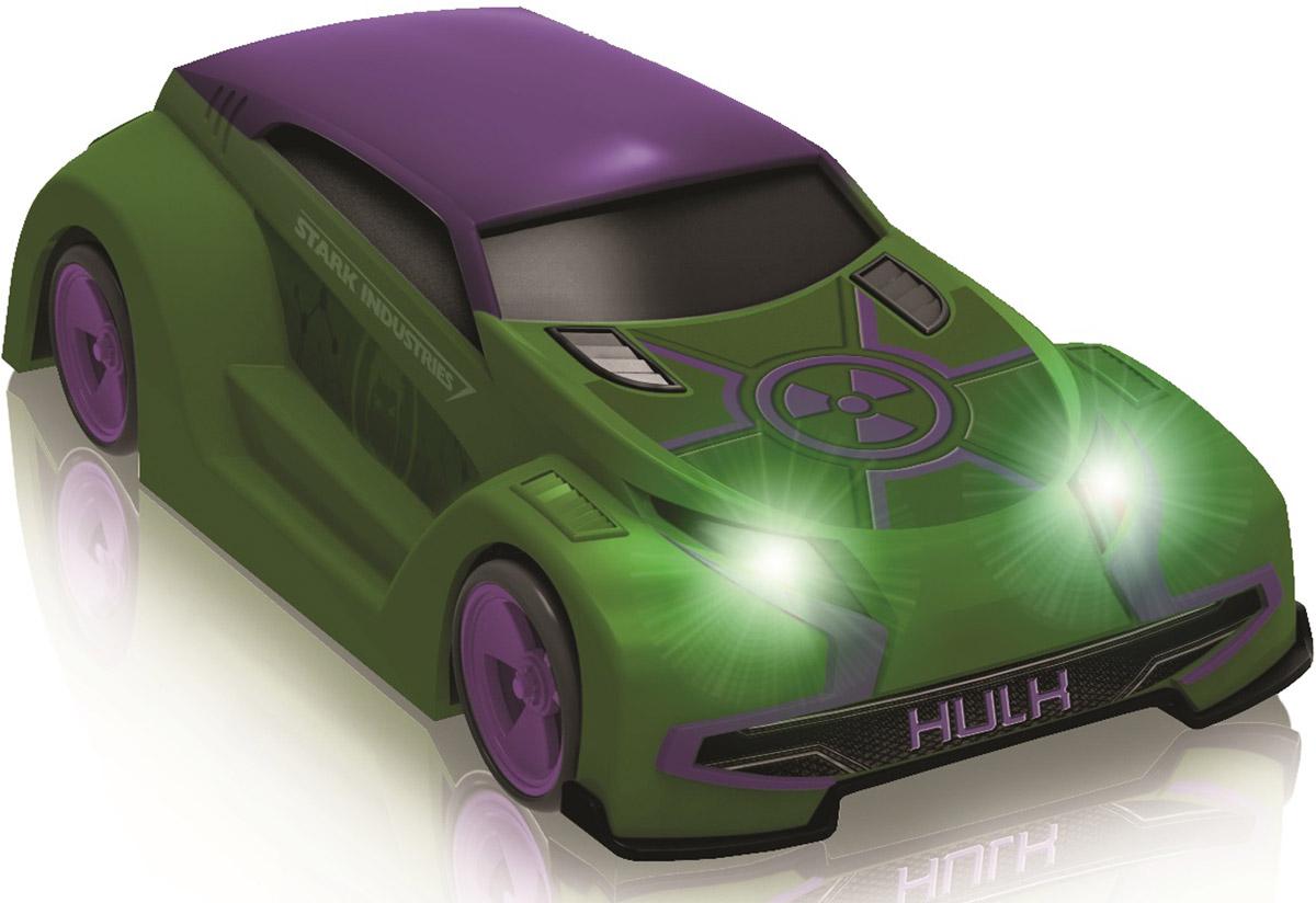 Avengers Машина на радиоуправлении Халк5069_ХалкМашинки на радиоуправлении в виде героев знаменитого фильма Мстители от компании Yellow. Фары светятся.