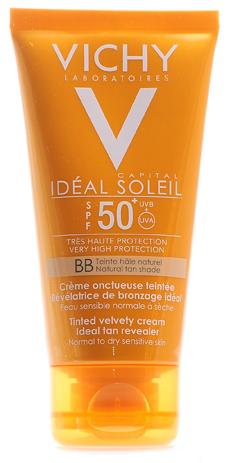 Vichy Тонирующий крем с бахатистой текстурой для лица SPF50+ 50млM8073302Тонирующий крем для лица с бархатистой текстурой SPF50+ обеспечивает очень высокую защиту, идеально подчеркивает загар. Мягкая, шелковая текстура с гиалуроновой кислотой, быстро впитывается в кожу, кожа становится гладкой, мягкой и упругой. Однородная ВВ текстура создает натуральный и ровный загар. Делает кожу гладкой и придает сияющий загар. Кожа эффективно защищена. Идеальная кожа мгновенно и день за днем.