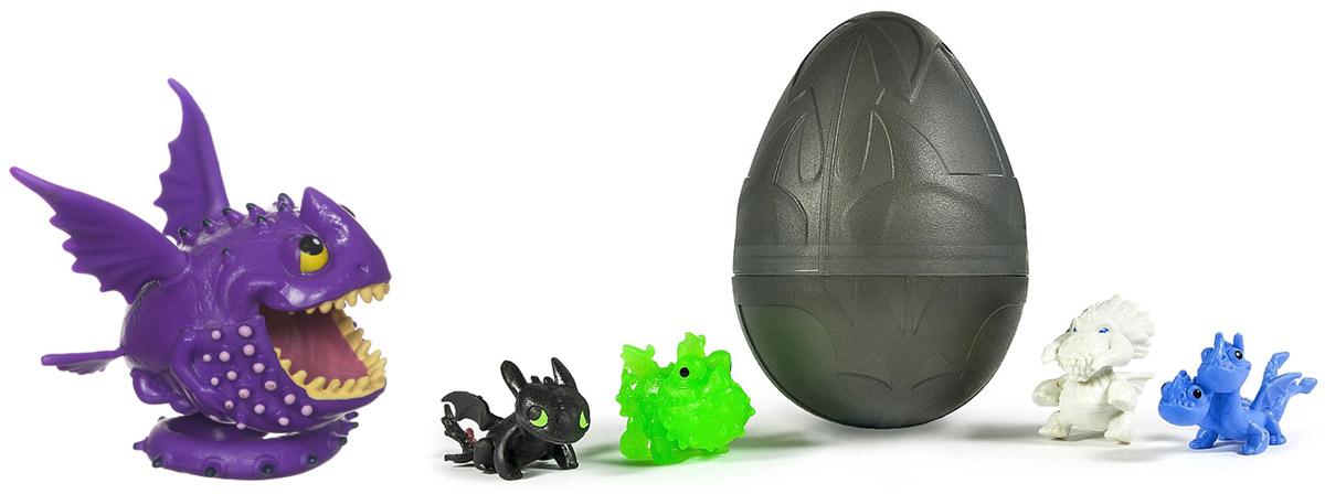 Dragons Фигурка дракона + подарок 4 дракона в яйце66551NBИгрушка Dragons Маленькая фигурка дракона (арт 66551) + подарок 4 дракона в яйце (арт 66603). ВНИМАНИЕ! Уважаемые клиенты, обращаем ваше внимание на ассортимент в дизайне фигурок. Поставка осуществляется в зависимости от наличия на складе.