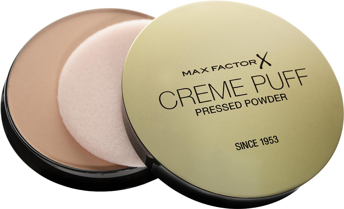 Max Factor Крем-пудра Тональная Creme Puff Powder 13 тон nouveau beige 15 мл81491501Компактная пудра Creme Puff- must have на все случаи жизни. Она мгновенно матирует кожу, наполняя ее изысканным сиянием. Великолепное матовое покрытие. Подходит для всех типов кожи. Мельчайшие светоотражающие частицы создают мягкое сияние. Можно использовать самостоятельно после увлажнения кожи или поверх тональной основы