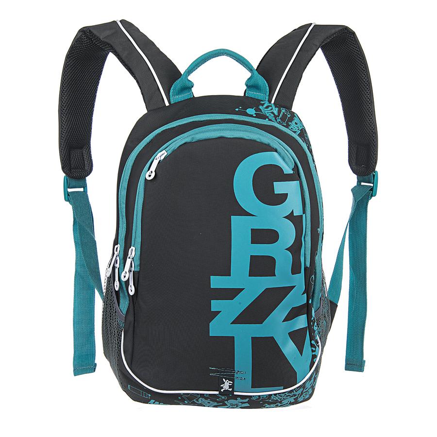Рюкзак городской Grizzly, цвет: серый, голубой, 18 л. RU-400-1/3RU-400-1/3Рюкзак молодежный, два отделения, карман на молнии на передней стенке, боковые карманы из сетки, внутренний карман на молнии, внутренний карман-пенал для карандашей, внутренний подвесной карман на молнии, жесткая анатомическая спинка, дополнительная ручка-петля, укрепленные лямки