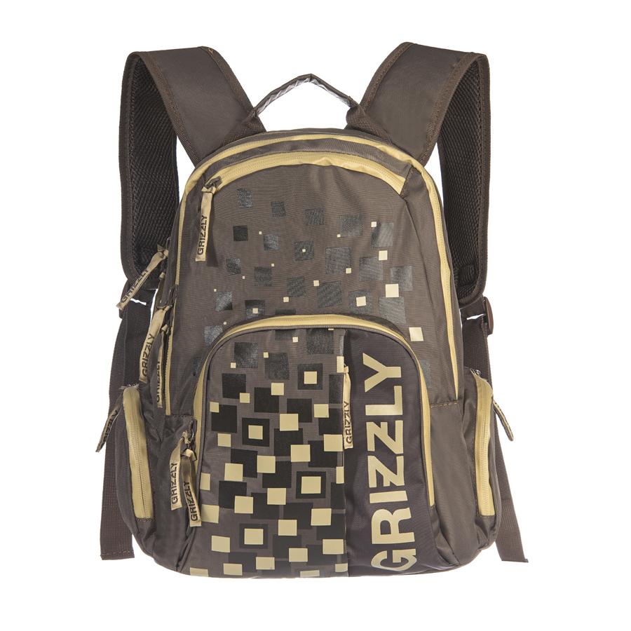 Рюкзак городской Grizzly, цвет: серый, 18 л. RU-510-1/4RU-510-1/4Рюкзак молодежный, два отделения, объемный карман на молнии на передней стенке, объемные боковые карманы на молнии, внутренний карман на молнии, внутренний карман-пенал для карандашей, жесткая анатомическая спинка, карман быстрого доступа в верхней части рюкзака, карман быстрого доступа в передней части рюкзака, дополнительная ручка-петля, укрепленные лямки