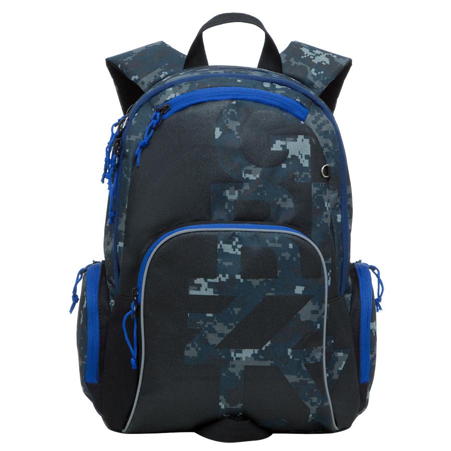 Рюкзак городской Grizzly, цвет: серый, синий, 18 л. RU-604-1/5RU-604-1/5Рюкзак молодежный, два отделения, карман на молнии на передней стенке, объемный карман на молнии на передней стенке, объемные боковые карманы на молнии, внутренний карман-пенал для карандашей, внутренний подвесной карман на молнии, жесткая анатомическая спинка, дополнительная ручка-петля, укрепленные лямки, брелок для ключей