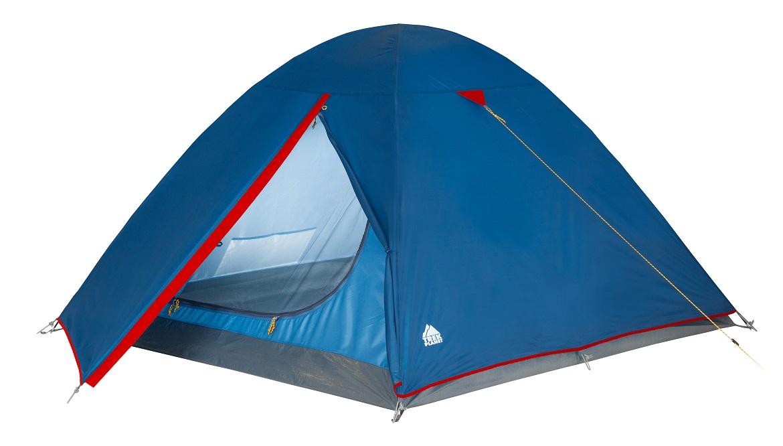 Палатка трехместная Trek Planet Dallas 3, цвет: синий70103Трехместная палатка с удобным тамбуром Trek Planet Dallas 3 - самая доступная по цене среди двухслойным палаток. ОСОБЕННОСТИ МОДЕЛИ: - Палатка легко и быстро устанавливается, - Тент палатки из полиэстера, с пропиткой PU водостойкостью 2000 мм, надежно защитит от дождя и ветра, все швы проклеены, - Каркас выполнен из прочного стеклопластика, - Дно изготовлено из прочного армированного полиэтилена, - Внутренняя палатка, выполненная из дышащего полиэстера, обеспечивает вентиляцию помещения и позволяет конденсату испаряться, не проникая внутрь палатки, - Удобная D-образная дверь на входе во внутреннюю палатку - Москитная сетка на входе во внутреннюю палатку в полный размер двери, - Вентиляционный клапан, - Внутренние карманы для мелочей, - Возможность подвески фонаря в палатке. - Палатка упакована в сумку-чехол с ручками, застегивающуюся на застежку-молнию. Артикул: 70103 Характеристики: Количество мест: 3 Цвет: синий,...