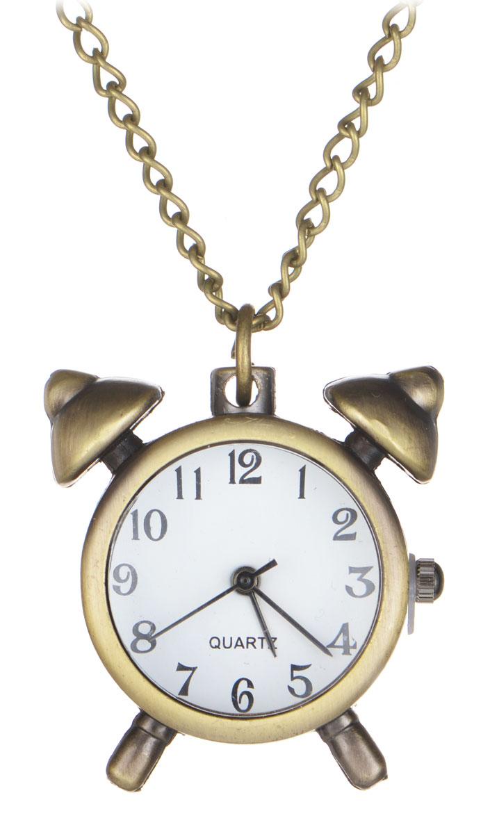 Кулон-часы Будильник. ANTIK-041ANTIK-041Оригинальный кулон-часы Mitya Veselkov Будильник - стильный аксессуар с элементом функциональности. Представляет собой цепочку с подвеской в виде будильника цвета античного золота, выполненную из металлического сплава. В центре кулона располагаются кварцевые часики с круглым циферблатом и тремя стрелками. Этот яркий и необычный аксессуар, несомненно, привлечет внимание и добавит вашему образу загадочности и индивидуальности.