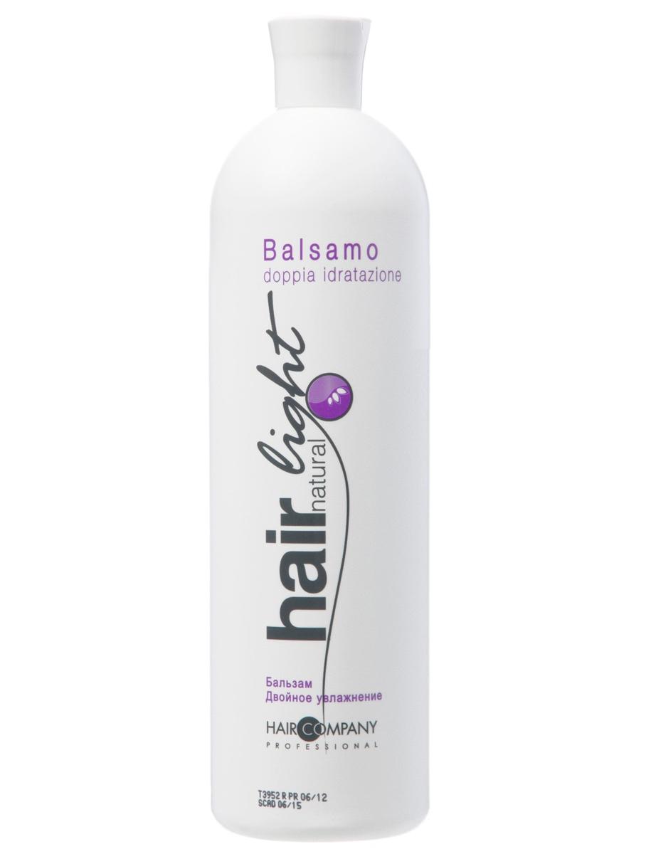 Hair Company Бальзам Двойное увлажнение Hair Natural Light Balsamo Doppia Idratazione 1000 мл (Hair Company Professional)