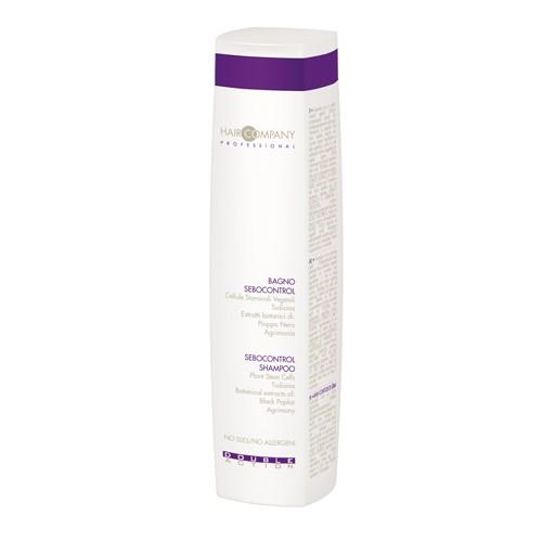 Hair Company Специальный шампунь, регулирующий работу сальных желез Double Action Sebocontrol Shampoo 250 мл (Hair Company Professional)