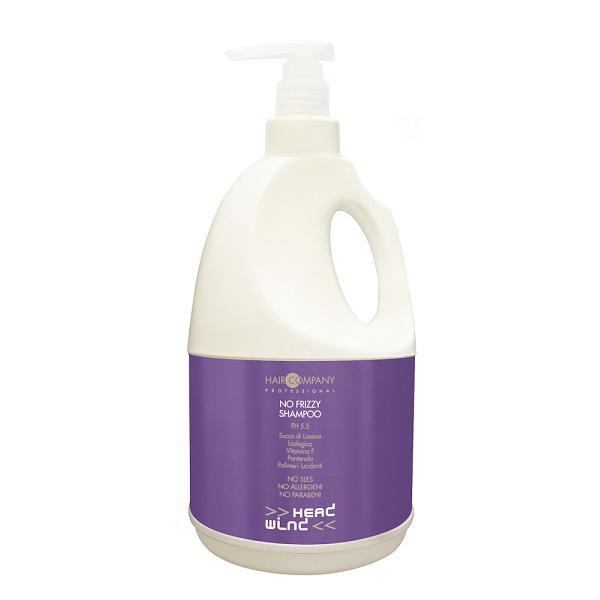 Hair Company Разглаживающий шампунь Head Wind No Frizzy Shampoo 2000 мл253035/LB11722 RUSРазглаживающий шампунь Hair Company Head Wind No Frizzy Shampoo деликатно очищает волосы и придает эффект мягкости и эластичности даже самым «непокорным» волосам. Благодаря специально подобранным щадящим поверхностно-активным веществам и нейтральному ph 5.5, шампунь может использоваться ежедневно.Активные компоненты: сок лимона, пантенол