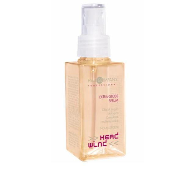 Hair CompanyGloss Serum - Сыворотка для волос Экстра-блеск Head Wind Extra 100 мл253134/LB12134(LB11732) RUSHair Company Head Wind Extra-Gloss Serum - Сыворотка для волос Экстра-блеск восстанавливает сеченые кончики волос и предупреждает их разрушение, защищает от негативного воздействия атмосферных явлений, термической и химической обработки. Питает волосы, поддерживает блеск и эластичность. Разглаживает кудрявые, распушённые волосы. При нанесении на сухие волосы можно подчеркнуть кудри и локоны. Имеет хорошую кондиционирующую функцию.