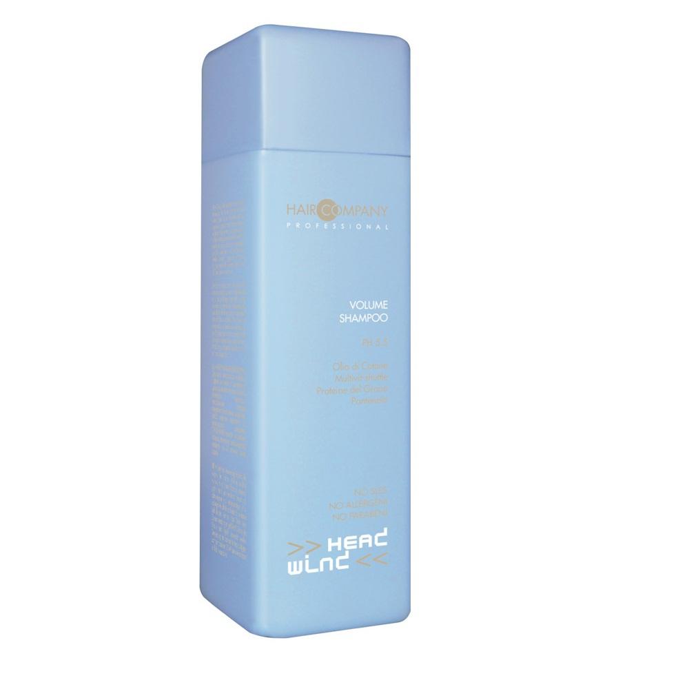 Hair Company Шампунь для придания объёма Head Wind Volume Shampoo 250 мл253141/LB11733 RUSШампунь для придания объёма Hair Company Head Wind Volume Shampoo идеально очищает, гарантирует полное и комплексное восстановление волос. Увеличивает толщину стержня волоса, придавая прочность и повышая тонус. Постоянное применение шампуня гарантирует увеличение объема, мягкость и эластичность волосам. Идеальное средство для тонких, ломких волос.