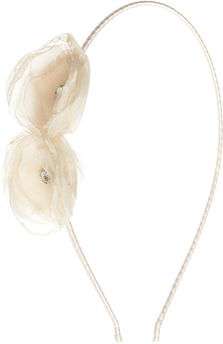 Ободок жен. Selena, цвет: белый. 70045256