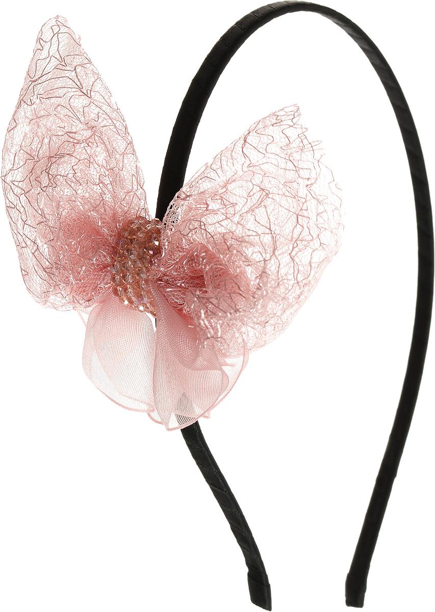 Ободок жен. Selena, цвет: розовый. 70059126