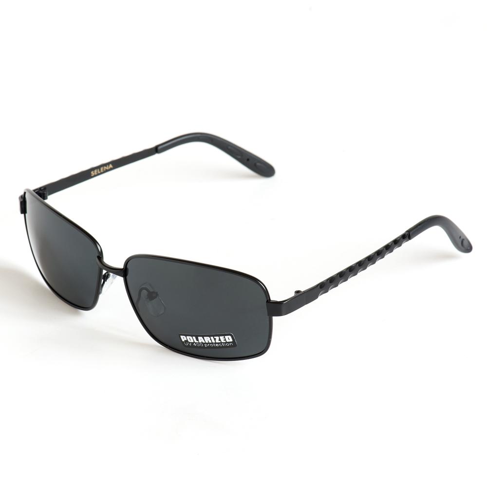Солнцезащитные очки жен. Selena, цвет: черный. 8003296180032961100% защита от ультрафиолетовых лучей.