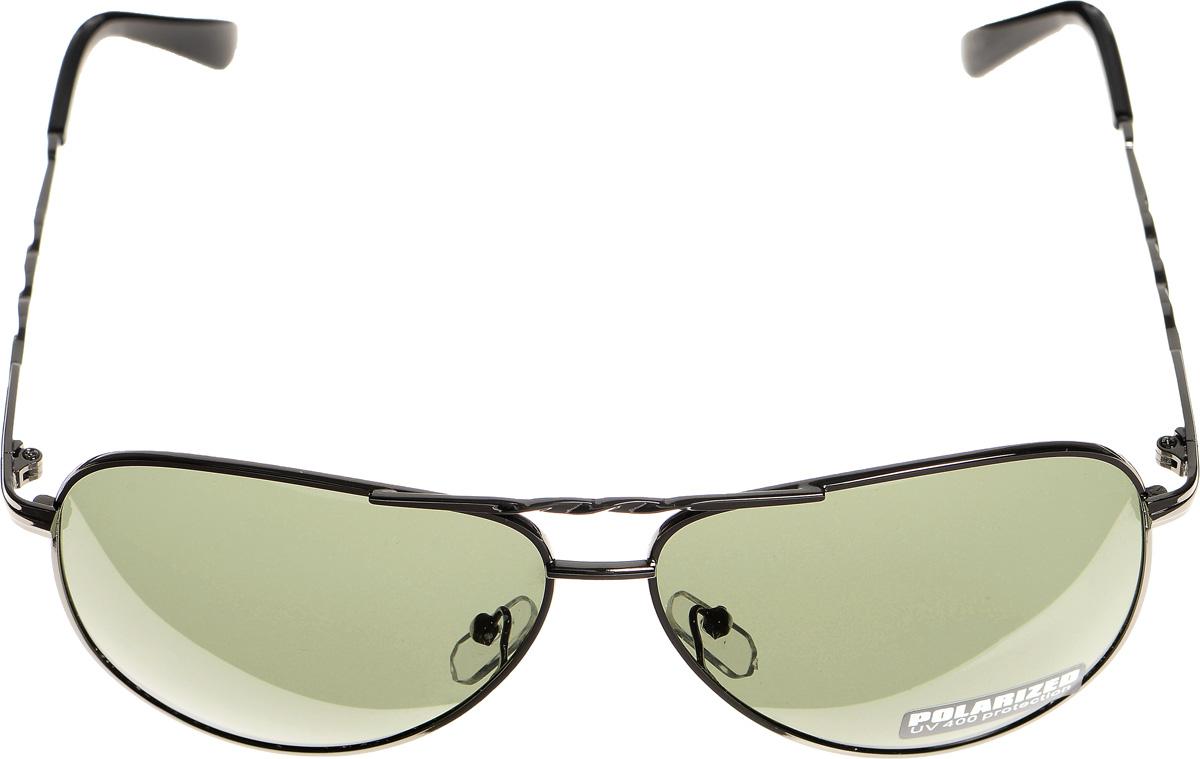 Очки солнцезащитные женские Selena, цвет: зеленый, темно-серый. 8003299180032991Солнцезащитные женские очки Selena выполнены из металла с элементами из высококачественного пластика. Дужки и мостик оформлены декоративной резьбой. Линзы данных очков с высокоэффективным фильтром UV-400 Protection обеспечивают полную защиту от ультрафиолетовых лучей. Используемый пластик не искажает изображение, не подвержен нагреванию и вредному воздействию солнечных лучей. Такие очки защитят глаза от ультрафиолетовых лучей, подчеркнут вашу индивидуальность и сделают ваш образ завершенным.