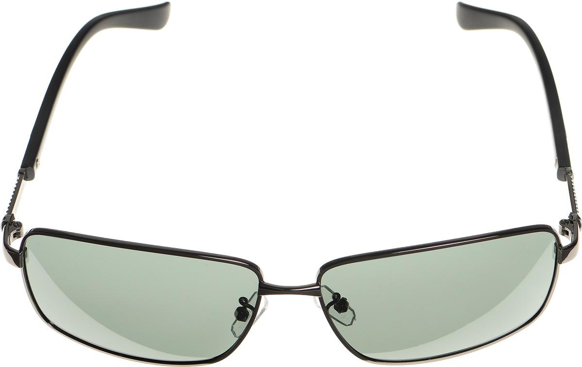 Очки солнцезащитные женские Selena, цвет: серый, черный. 8003311180033111Солнцезащитные женские очки Selena выполнены из металла с элементами из высококачественного пластика. Дужки оформлены декоративными элементами. Линзы данных очков с высокоэффективным фильтром UV-400 Protection обеспечивают полную защиту от ультрафиолетовых лучей. Используемый пластик не искажает изображение, не подвержен нагреванию и вредному воздействию солнечных лучей. Такие очки защитят глаза от ультрафиолетовых лучей, подчеркнут вашу индивидуальность и сделают ваш образ завершенным.