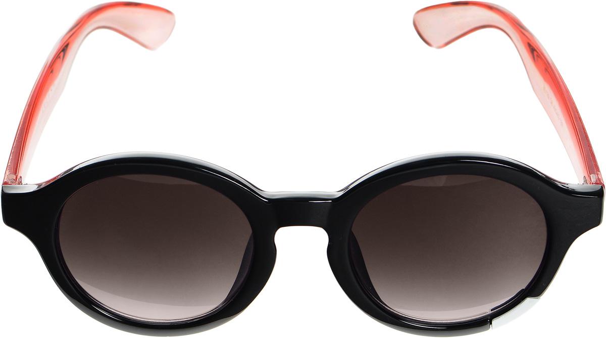 Очки солнцезащитные женские Selena, цвет: черный, розовый, коричневый. 8003346180033461Солнцезащитные женские очки Selena выполнены из высококачественного пластика. Дужки выполнены из материала контрастного цвета, а оправа дополнена металлической вставкой. Линзы данных очков с высокоэффективным фильтром UV-400 Protection обеспечивают полную защиту от ультрафиолетовых лучей. Используемый пластик не искажает изображение, не подвержен нагреванию и вредному воздействию солнечных лучей. Такие очки защитят глаза от ультрафиолетовых лучей, подчеркнут вашу индивидуальность и сделают ваш образ завершенным.