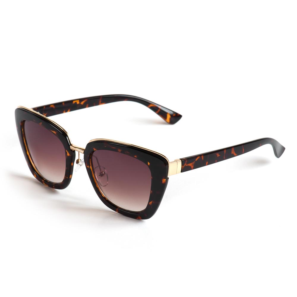 Солнцезащитные очки жен. Selena, цвет: коричневый, золотистый. 8003418180034181100% защита от ультрафиолетовых лучей.