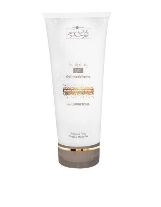 Hair Company Моделирующий и фиксирующий гель Professional Inimitable Style Sculpting Gel 250 мл254735/LB12173 RUSНевероятно долгая фиксация прически. Содержит LUMINESCINE - отражает свет, придает волосам естественный блеск и жизненную силу. Специальная формула продукта защищает волосы от вредного воздействия окружающей среды: солнца, влаги, ветра.