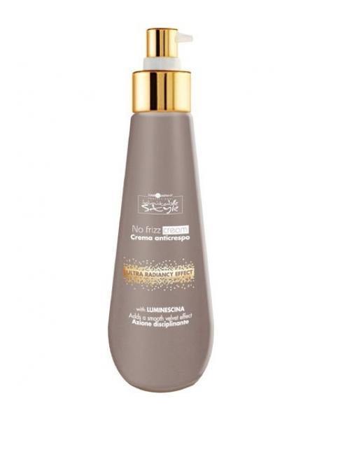 Hair Company Разглаживающий крем Professional Inimitable Style No Frizz Cream 200 мл254810/LB12181 RUSРазглаживающий крем HAIR COMPANY INIMITABLE STYLE No Frizz Cream Увлажняющий крем для волос придает мягкость, нежность, создает бархатистый эффект. Содержит LUMINESCINE - активный компонент (который отражает солнечные лучи) придает ослепительный блеск и подвижность волос.