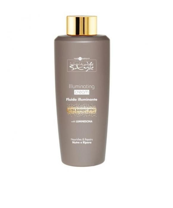Hair Company Крем для придания блеска Professional Inimitable Style Illuminating Cream 250 мл254827/LB12182 RUSКрем для придания блеска HAIR COMPANY INIMITABLE STYLE Illuminating Cream 250 мл Питает и восстанавливает волосы изнутри. Волосы легче расчесываются, приобретают мягкий и шелковистый эффект. LUMINESCINE - придает волосам глянцевый блеск.