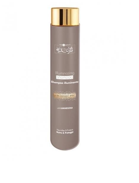 Hair Company Шампунь, придающий блеск Professional Inimitable Style Illuminating Shampoo 250 мл254865/LB12186 RUSШампунь для блеска HAIR COMPANY INIMITABLE STYLE Illuminating Shampoo Питает и защищает волосы. Содержит специально разработанный ингредиент LUMINESCINE - отражает солнечные лучи, придает блеск и шелковистость волосам. Не содержит парабены и SLES. Защищает волосы и кожу головы. Подходит для тонких и ослабленных волос.