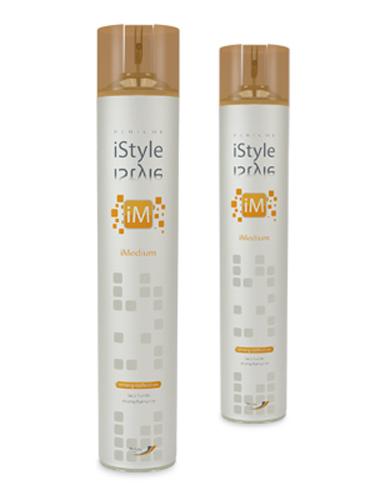 Periche Лак для волос сильной фиксации iMedium Strong Definition 500 мл652237Лак для волос сильной фиксации прекрасно закрепляет прическу на весь день. Содержит солнцезащитный фильтр. Не пересушивает и не утяжеляет волосы