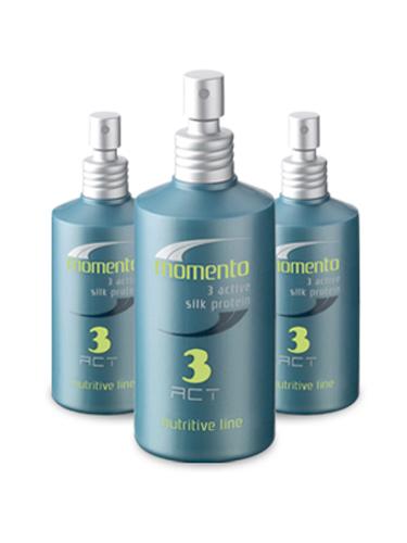 Periche Лечение с протеинами шелка 3 Act momento 130 мл657577Periche Лечение с протеинами шелка 3 Act momento Активное лечение тройного действия. Содержит протеин, смягчает и распутывает волосы. Формула подходит для всех типов волос, не перегружает волосы, имеет цитрусовый аромат. Легкая консистенция в виде спрея быстро и равномерно распределяется по волосам.