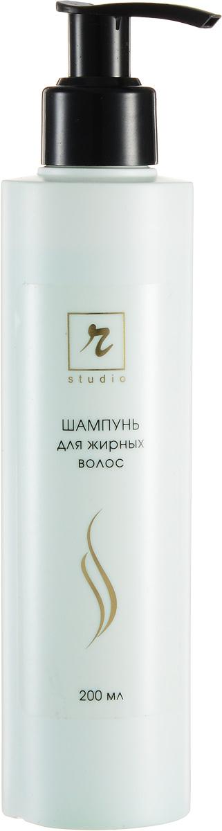 R-Studio Шампунь для жирных волос 200 мл1626При регулярном использовании шампунь поддерживает нормальную секрецию сальных желез. Снимает загрязнение волос благодаря грязеотталкивающим добавкам; придает волосам эффект «обновления цвета» благодаря светоотражающим добавкам; облегчает укладку и моделирование прически благодаря антистатическим и увлажняющим добавкам; предохраняет кожу головы и волосы от появления перхоти и защищает их от агрессивных соединений водопроводной воды благодаря специальным компонентам.