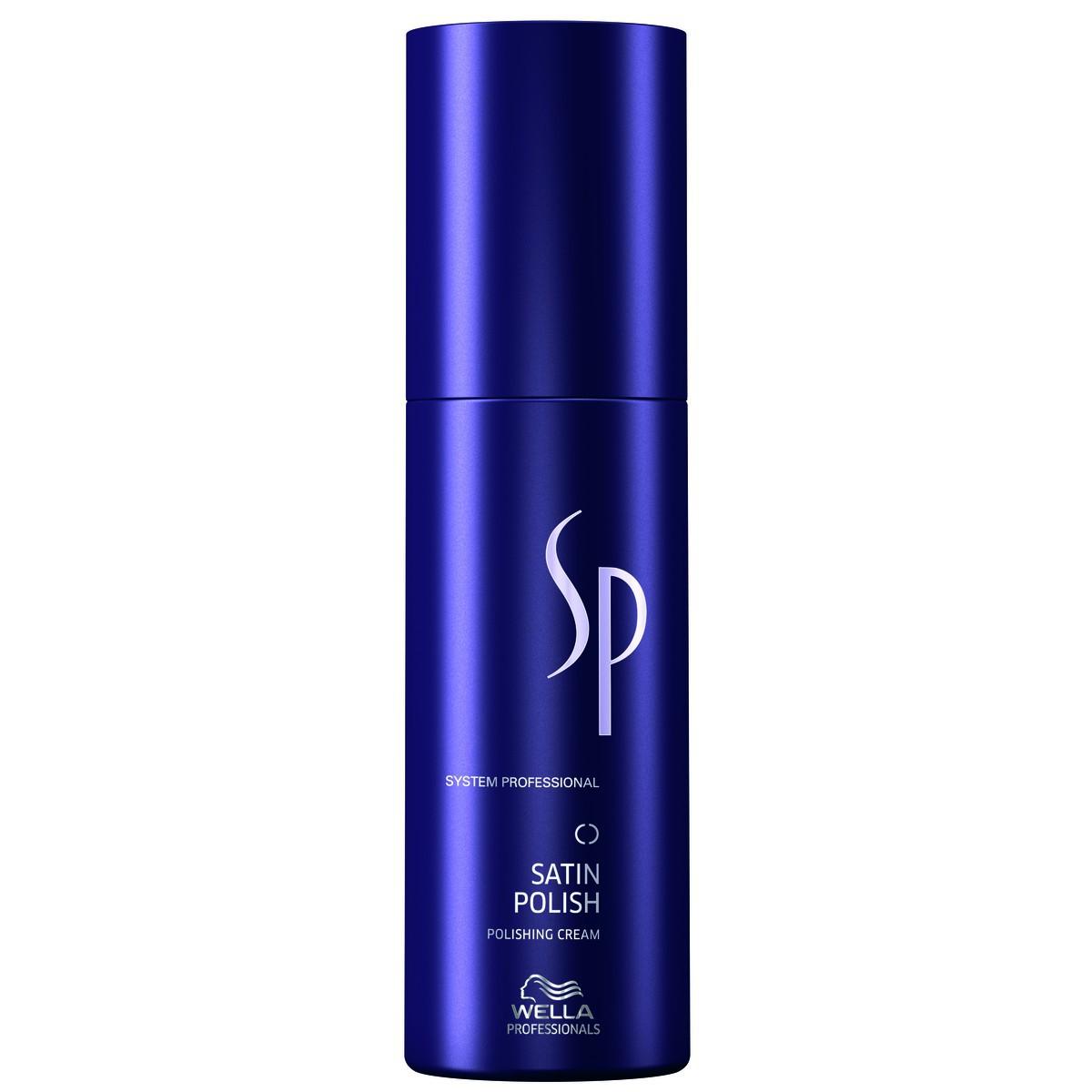 Wella SP Крем для гладкости волос Styling Satin Polish, 75 мл81232369Крем для гладкости волос Wella SP Styling Satin Polish Придаст Вашим волосам элегантный жемчужный блеск, обеспечит мягкость и фиксацию с antifrizz - эффектом. Препятствует образованию локонов.