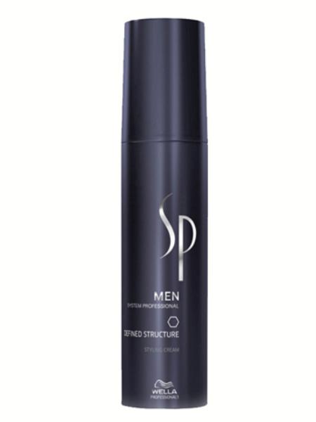 Wella SP Крем для текстуры и блеска Men Defined Structure, 100 мл81384452Крем для текстуры и блеска Defined Structure для мужчин не просто фиксирует волосы, но и заботится о них. Средство предотвращает возрастные процессы в структуре волос и содержит комплекс витаминов для питания кожи головы. Петролатум улучшает текстуру, облегчает расчесываемость волос, усиливает их упругость и придает им блеск, воск растительного происхождения и церезин регулируют консистенцию. Способ применения: Нанесите небольшое количество крема на сухие или влажные волосы и уложите их.