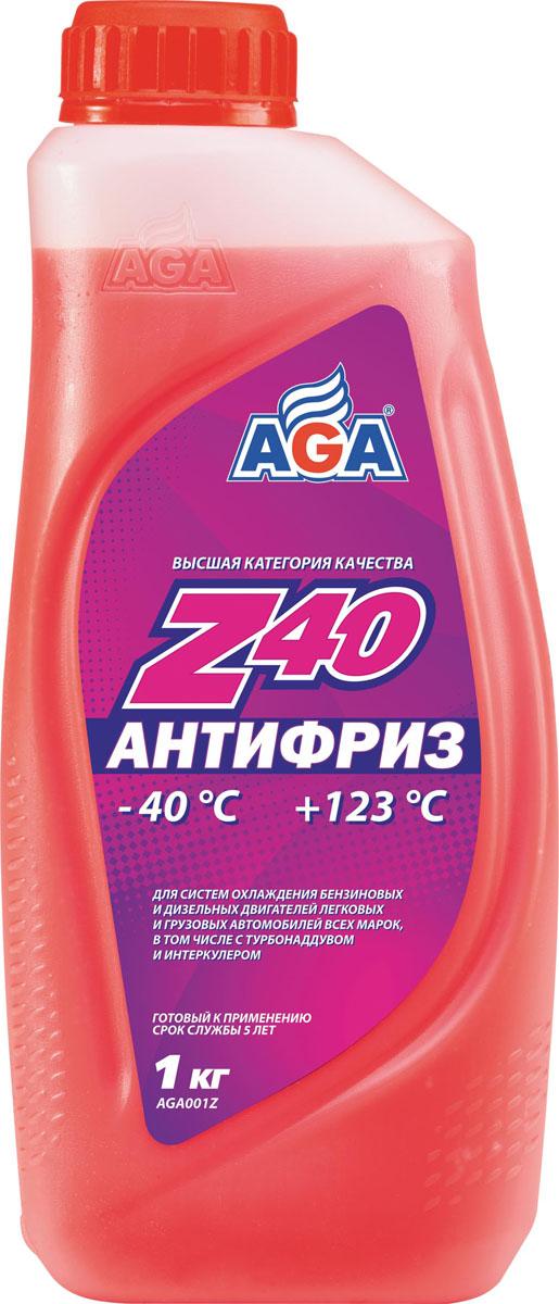 Антифриз, готовый к применению AGA, красный, -40 °С. AGA 001 ZAGA 001 ZСрок службы — до 5 лет, или 150 000 км пробега. Рабочий диапазон температур: от –40 до +123 °C. Отличается повышенной проникающей способностью в микрорельеф охлаждаемых поверхностей, что улучшает теплоотвод, особенно при высоких нагрузках. Антифриз разработан с учетом требований: ASTM?D?4985/5345; BMW N600 69.0; DaimlerChrysler DBL 7700.20; Audi, Porsche, Seat, Skoda, VW TL 774?F, type G-12+; Ford WSS–M97 B44–D, ТТМ АвтоВАЗ.