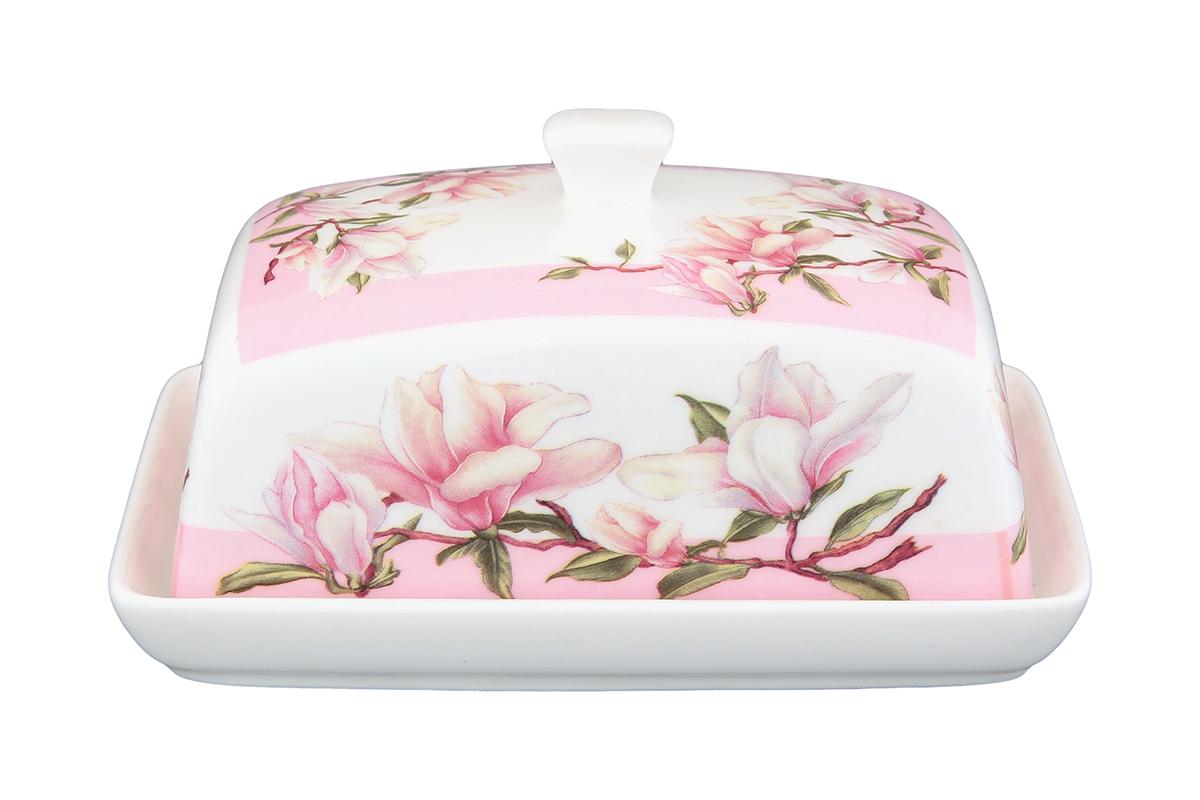 Масленка Elan Gallery Орхидея на розовом180828Прекрасный подарок, стильный предмет интерьера, красота и уют вашего дома.