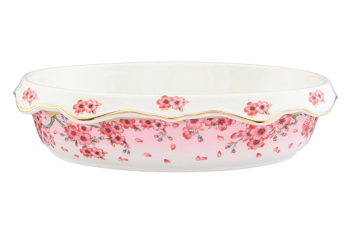 Блюдо-шубница Elan Gallery Сакура, 24 х 17 х 6 см503601Красочная посуда подарит настроение и уют, привнесет разнообразие в приготовление ваших любимых блюд и сервировку семейного стола. Владение искусством кулинарии - это умение не только вкусно готовить, но и красиво преподносить кулинарные шедевры. Очень важную роль играет, конечно же, посуда. Именно она является обрамлением блюда, его гармоничным продолжением. Посуда должна красиво дополнять пищу, подчеркивать ее аппетитность, изысканность и отменный вкус самой хозяйки. Объем блюда: 900 мл.