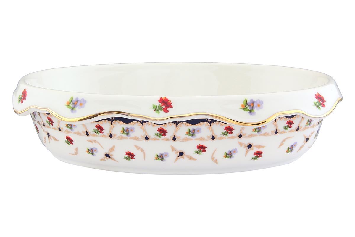 Блюдо-шубница Elan Gallery Цветочек, 24 х 17 х 6 см503602Красочная посуда подарит настроение и уют, привнесет разнообразие в приготовление ваших любимых блюд и сервировку семейного стола