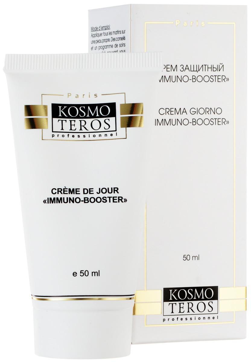 Kosmoteros Дневной крем для лица Creme de Jour Immunalon - 50 мл5065Обладает имунностимулирующей активностью, сильным противовоспалительным, ранозаживляющим, антиаллергическим, фотозащитным действием, укрепляет иммунную систему кожи, стимулирует обновление клеток, восстанавливает разрушенный коллаген, одновременно поддерживая необходимый уровень увлажнения кожи, восстанавливая гидратацию дермы и препятствуя трансэпидермальным потерям воды. Основные активные компоненты: Hyasealon 1, 2%, ?- глюкан 1, 0%эхинацея 4, 0%. Показания к применению: для любого типа кожи, нуждающейся в иммунокоррекции, в том числе для сухой и чувствительной.