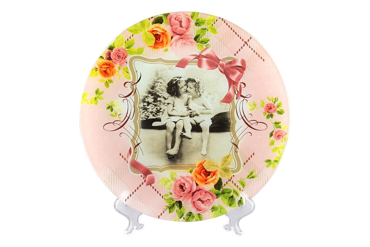 Блюдо VEGAS Две сестры, диаметр: 27 см890102 V-004Не важно, какая у вас посуда, в цветочек, белая, цветная, в горошек или полоску, посуда из стекла подойдет к любой. Придает легкость, воздушность сервировке стола и создаст особую атмосферу праздника. Диаметр блюда: 27 см.