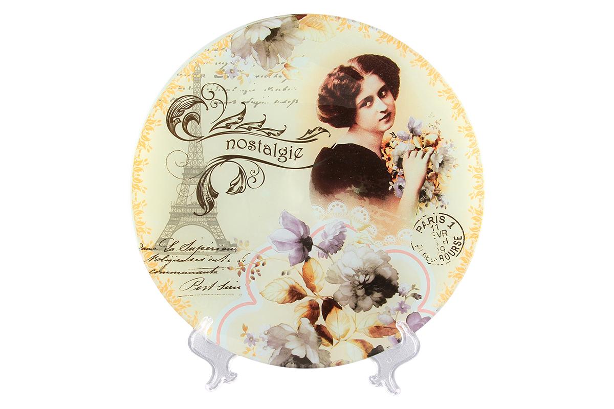 Блюдо VEGAS Ностальгия890103 V-005Не важно, какая у вас посуда, в цветочек, белая, цветная, в горошек или полоску, посуда из стекла подойдет к любой. Придает легкость, воздушность сервировке стола и создаст особую атмосферу праздника.
