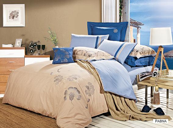 Комплект белья Arya Pabna, 2-х спальный, наволочки 50x70, 70x70, цвет: голубойF9708541Комплект постельного белья линии Dream Line выполнен из сатина высокой плотности, нити в котором очень сильно скручены, поэтому ткань гладкая и немного блестит. Благодаря реактивной печати Ваше постельное белье не полиняет и со временем не станет выцветать. Комплект из плотного сатина прослужит дольше любого другого хлопкового белья. Благодаря диагональному пересечению нитей, он почти не мнется, что облегчает уход за ним. Этот комплект украшен изысканной машинной вышивкой лучшего качества, благодаря чему фактура вышивки не измениться и не потеряет своего контура. Наволочки с декоративным кантом, входящие в комплект, особенно подойдут, если вы предпочитаете класть подушки поверх покрывала. Кайма шириной 5-10см с трех или четырех сторон делает подушки визуально более объемными, смотрятся они очень аккуратно, даже парадно. Еще такие наволочки называют оксфордскими или наволочками с ушками. Производитель данного постельного белья- Компания Arya- создана в 1992 году в Стамбуле. Довольно...